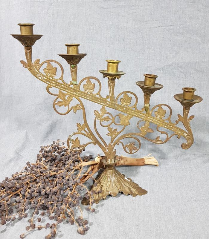 Kupfer Kerzenhalter
