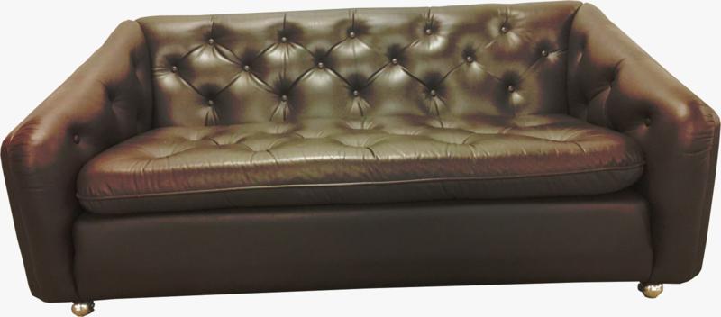 Vintage Artifort C610 sofa 2 seater