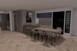 Ontwerp moderne keuken op maat