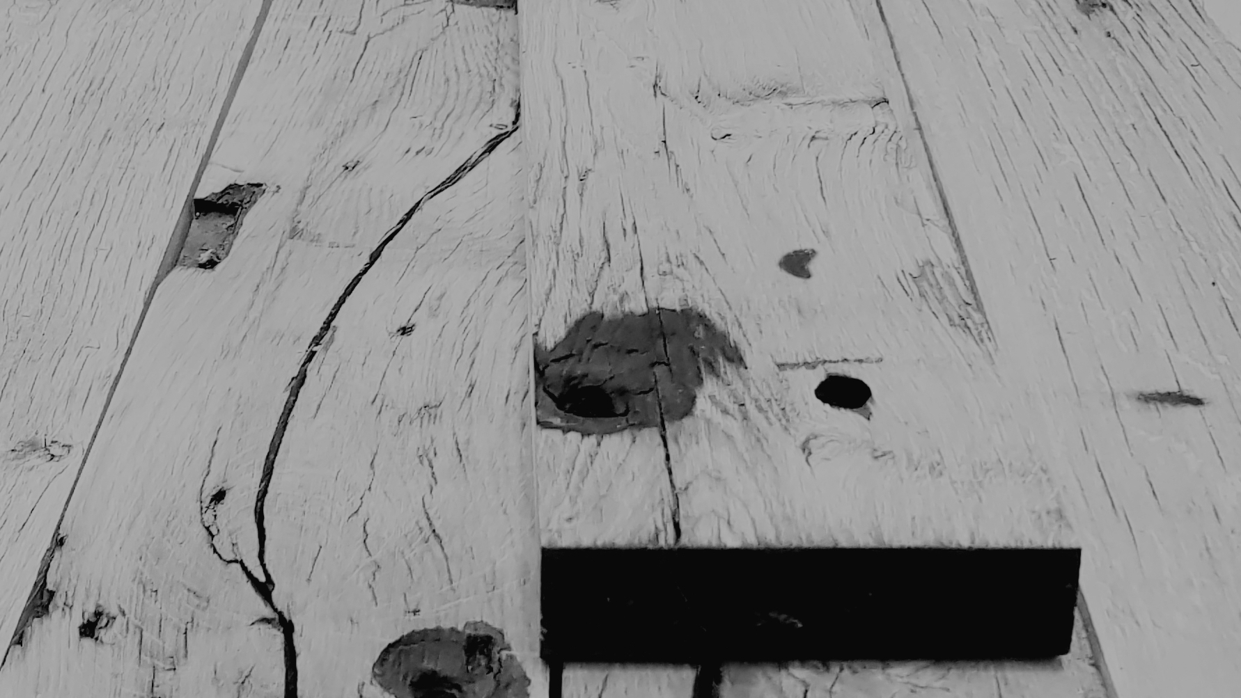 materialen eiken wagonplanken en massief eikenhout