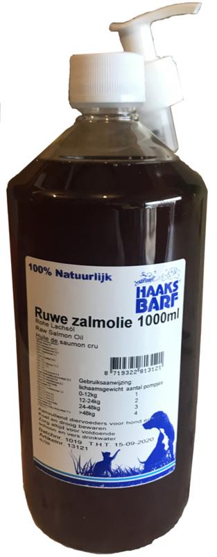 HAAKS®B.A.R.F Zalmolie 1000ml