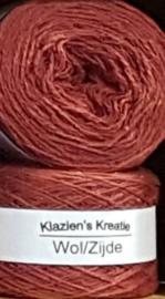 Klazien's Kreatie Wol/Zijde: 09 chianti