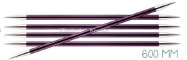 Knitpro Zing breinaalden zonder knop 6mm