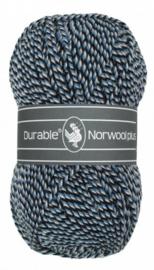 Durable Norwool Plus: M00235 Blauw/Wit/Zwart