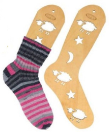 Houten Sockblokkers maat L (25.5cm)