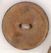 Kokos knoop beige 5689-30 mm