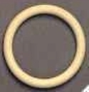 Houten ring 56x9mm
