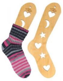 Houten Sockblokkers maat S (21cm)