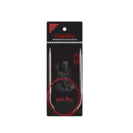 Chiaogoo red ergonomische rondbreinaald 3.5: 80cm