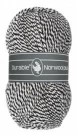 Durable Norwool Plus: M000 Zwart/Wit