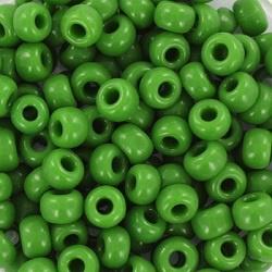 miyuki rocailles 6/0 - 0411 opaque green