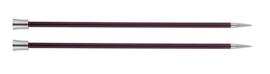 Knitpro Zing breinaalden met knop 6mm