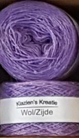 Klazien's Kreatie Wol/Zijde: 20 Iris