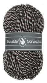Durable Norwool Plus: M00932 Bruin/Zwart/Ecru