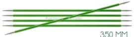Knitpro Zing breinaalden 20cm zonder knop 3.5mm
