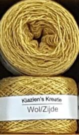 Klazien's Kreatie Wol/Zijde: 14 Mustard