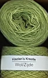 Klazien's Kreatie Wol/Zijde: 15 Pistache