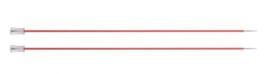 Knitpro Zing breinaalden 40cm met knop 3.75mm