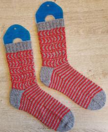 Handgebreide sokken maat 42/43