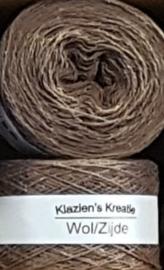 Klazien's Kreatie Wol/Zijde: 11 Choco