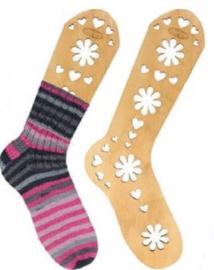 Houten Sockblokkers maat M (22.5cm)