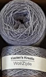 Klazien's Kreatie Wol/Zijde: 34 Sterling