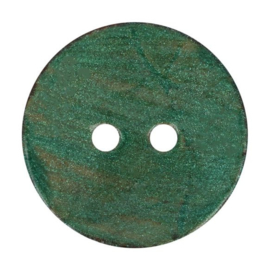 Kokos knoop vintage 410- groen 32.5 mm