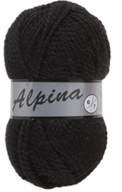 Lammy Yarns Alpina 6: kleur 001