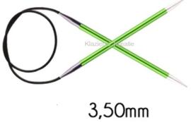 Knitpro Zing vaste rondbreinaald - 3.5 - 060cm