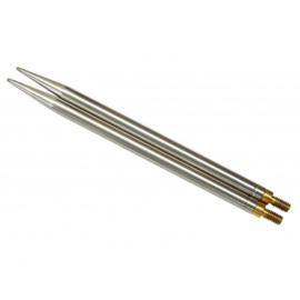 Rondbreinaalden kabels en punten.