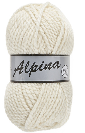 Lammy Yarns Alpina 6: kleur 016