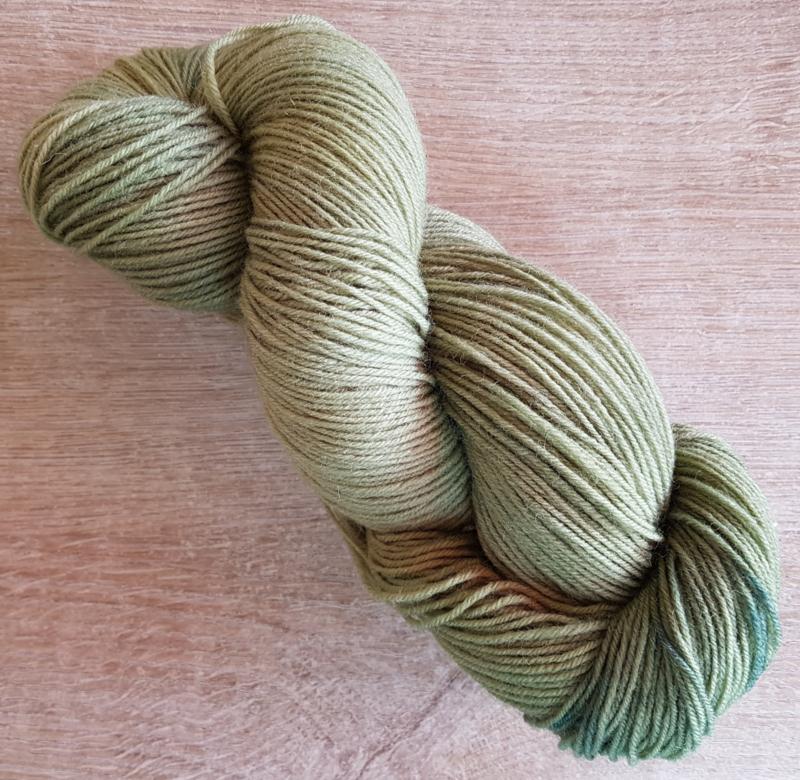 Handgeverfde sokkenwol 4 draads: Olgren