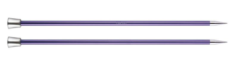 Knitpro Zing breinaalden 25cm met knop 7mm