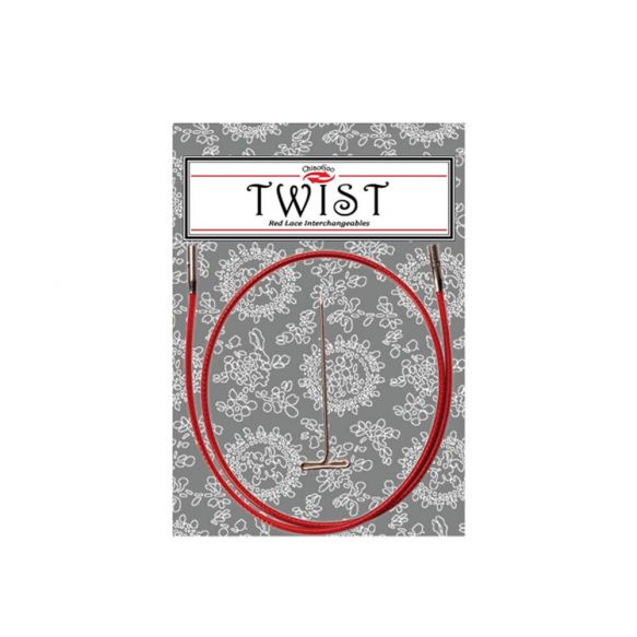 Chiaogoo Twist Red Cable Mini: 55 cm