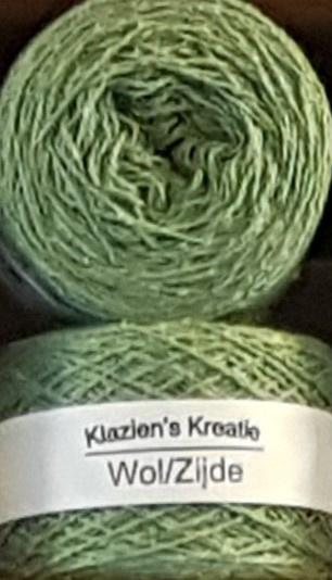 Klazien's Kreatie Wol/Zijde: 31 Fern