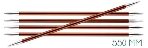 Knitpro Zing breinaalden zonder knop 5.5mm