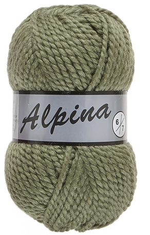 Lammy Yarns Alpina 6: kleur 076