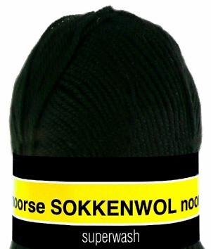 Scheepjes Noorse Sokkenwol 6860 Zwart