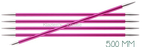 Knitpro Zing breinaalden zonder knop 5mm