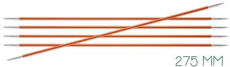 Knitpro Zing breinaalden 15 cm zonder knop 2.75 mm