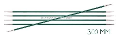 Knitpro Zing breinaalden 15 cm zonder knop 3.00 mm