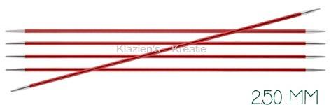 Knitpro Zing breinaalden 15cm zonder knop 2.5 mm