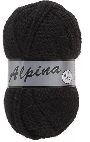 Lammy Yarns Alpina 6: kleur 001