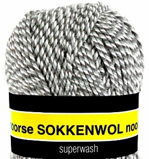Scheepjes Noorse Sokkenwol 6848 Bruin/Grijs/Beige