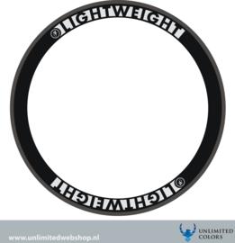 Lightweight rim stickers 2, 4 pieces