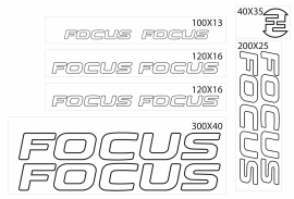 Focus stickers outline