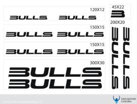 Bulls stickers