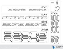 Beone stickers outline