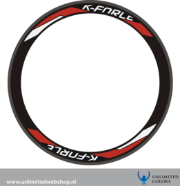 K-Force wheel sticker, 4 pieces