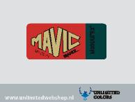 Mavic Module E2 wheel stickers 4 pieces